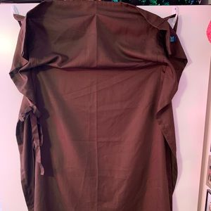 Brown One Panel Curtain